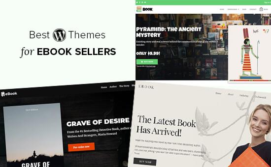Les meilleurs thèmes WordPress pour la vente de livres électroniques