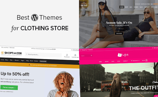 Thèmes WordPress du meilleur magasin de vêtements